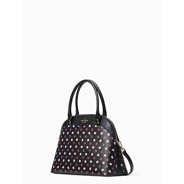 payton medium dome satchel, black multi, hi-res