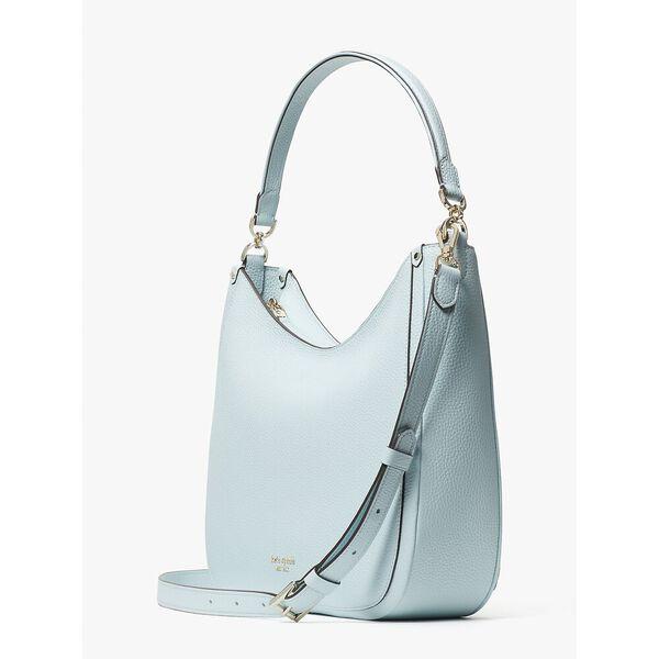 roulette large hobo bag, blue glow, hi-res