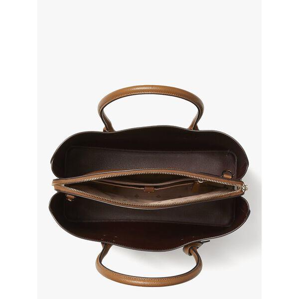 margaux large satchel, WARM GINGERBREAD, hi-res
