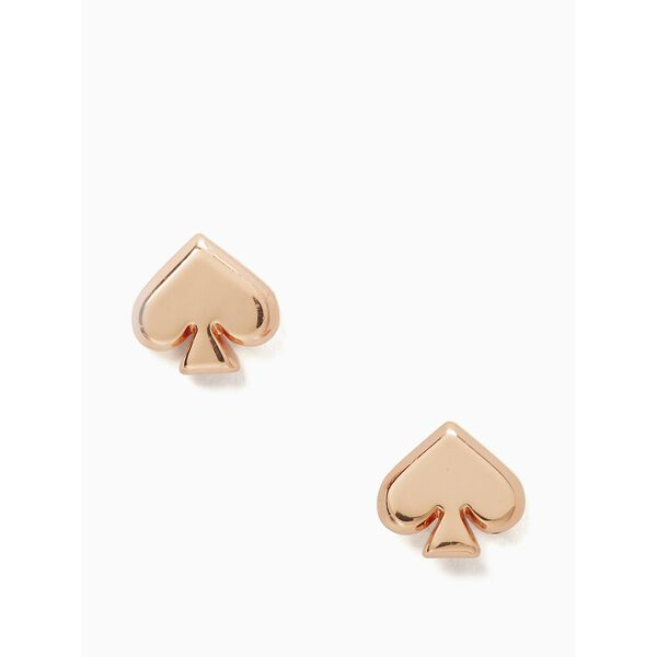 everyday spade metal studs, ROSE GOLD, hi-res