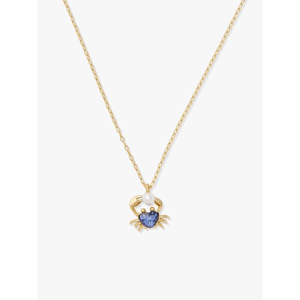 sea star crab mini pendant