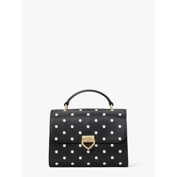 lovitt dot small top-handle bag