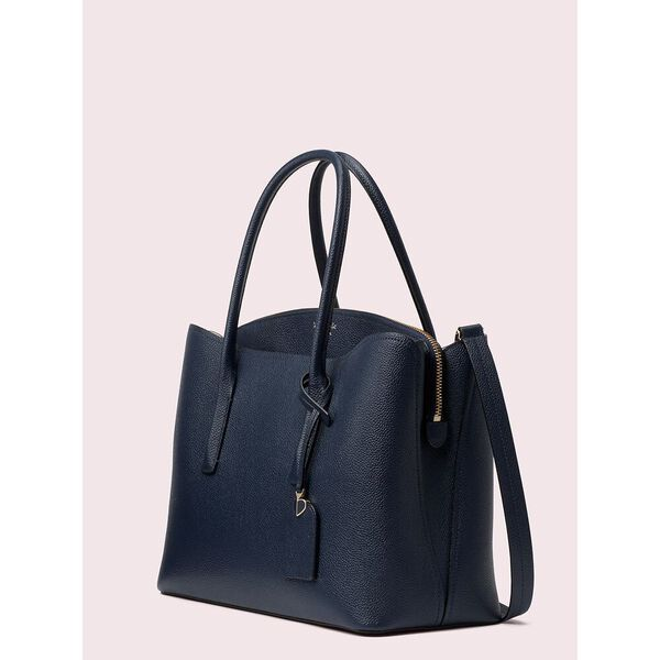 margaux large satchel, blazer blue, hi-res