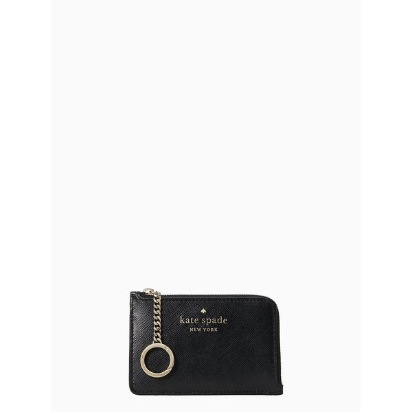staci medium l-zip card holder