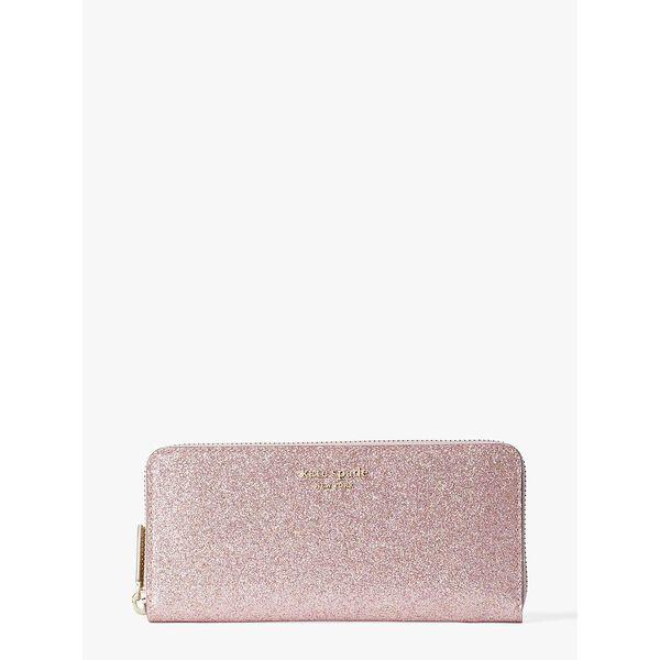 spencer glitter slim continental wallet