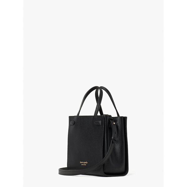 lane small satchel, black, hi-res