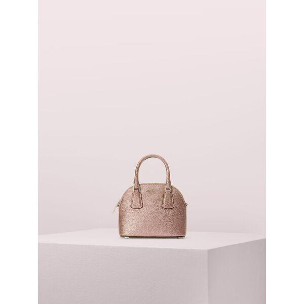 sylvia glitter mini dome satchel