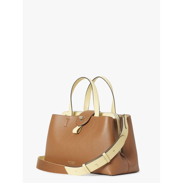 essential large satchel, WARM GINGERBREAD, hi-res