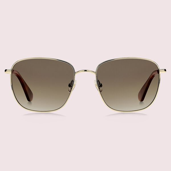 kiyah sunglasses, gold, hi-res