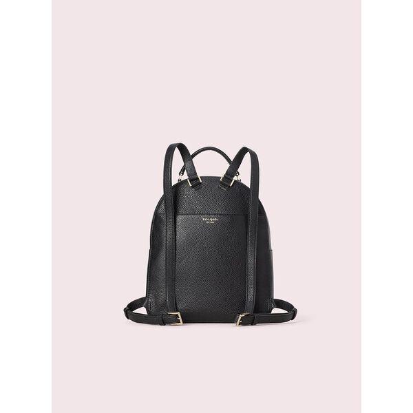 polly medium backpack, BLACK, hi-res