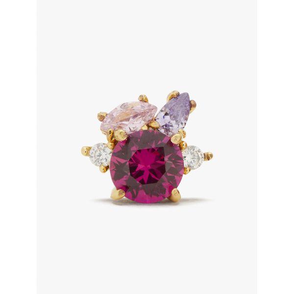 little gem cluster studs, PINK MULTI, hi-res