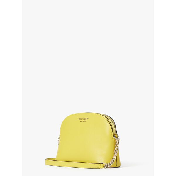 spencer small dome crossbody, LIGHT BULB, hi-res