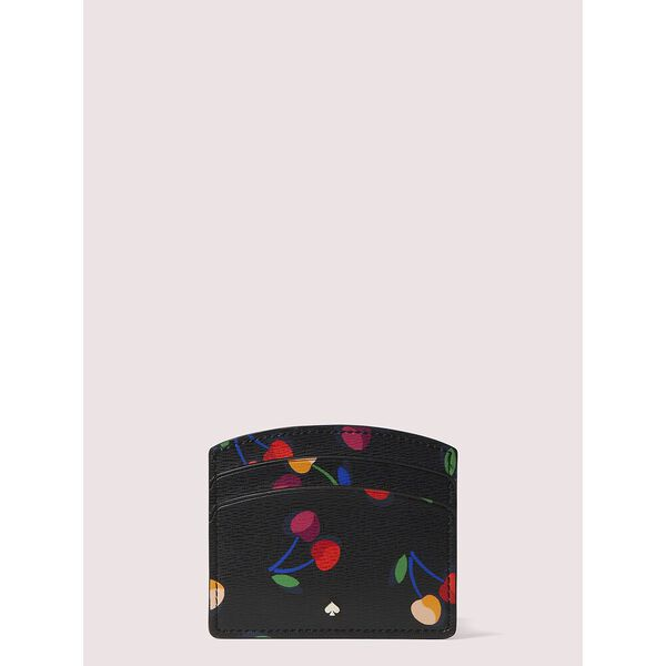 spencer cherries cardholder, BLACK MULTI, hi-res