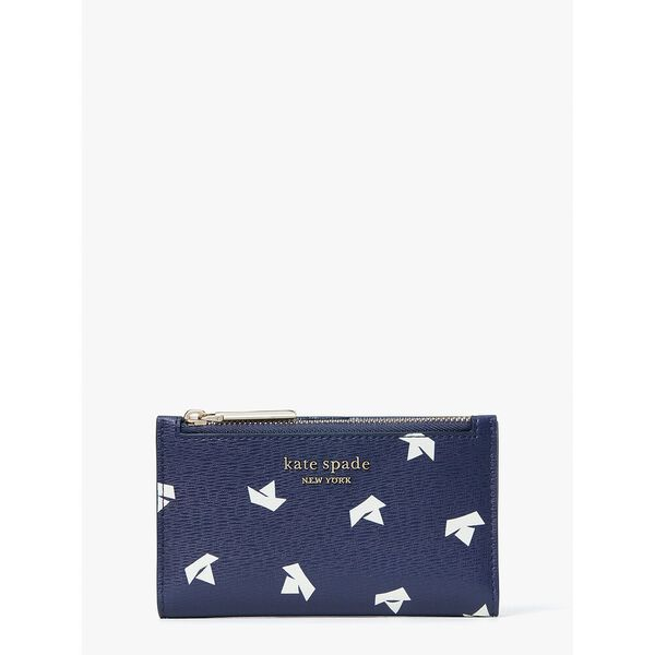 spencer paper boats small slim bifold wallet