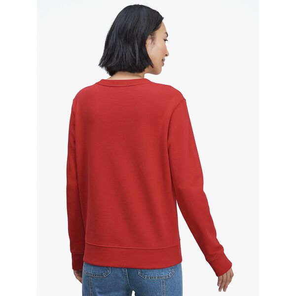 disney x kate spade new york clarabelle & friends sweatshirt, crimson gem, hi-res