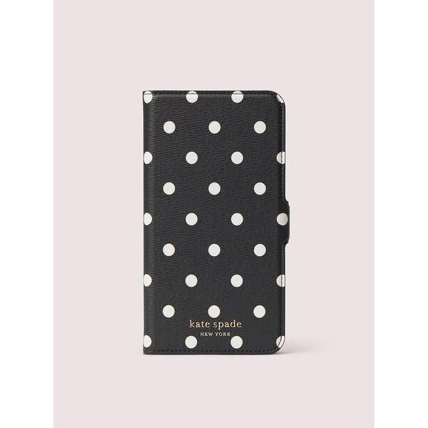 cabana dot iphone 11 pro max magnetic wrap folio case