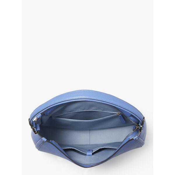 roulette large hobo bag, DEEP CORNFLOWER, hi-res