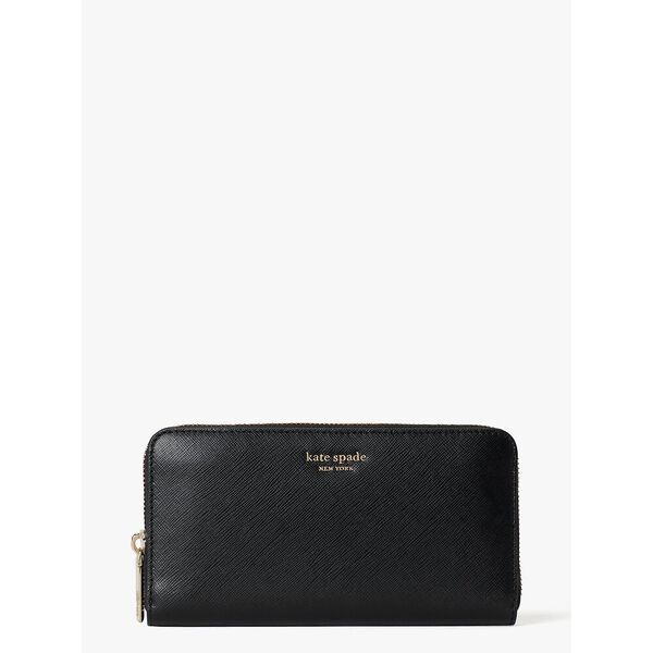 spencer zip-around continental wallet