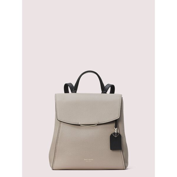 grace medium backpack, warm taupe/black, hi-res