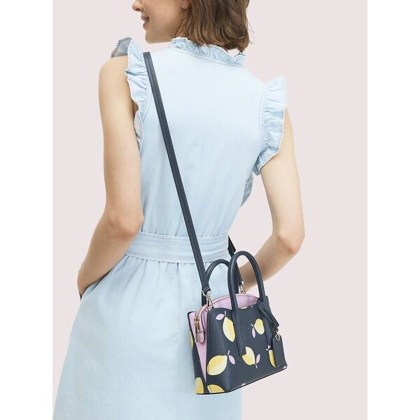 margaux lemons mini satchel, BLUE MULTI, hi-res