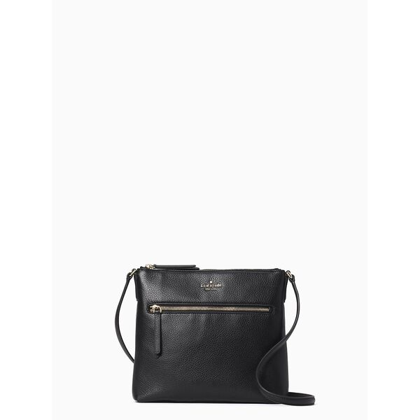 jackson top zip crossbody
