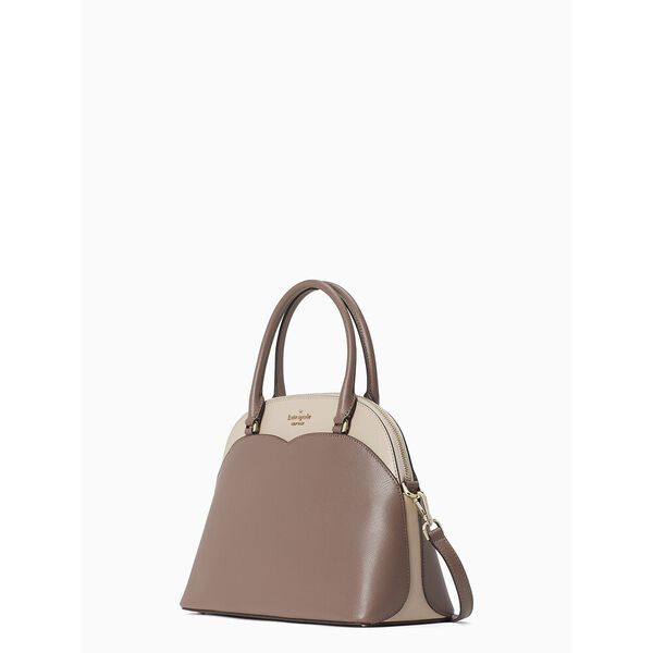 payton medium dome satchel, neutral multi, hi-res
