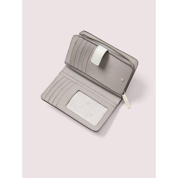 spencer compact wallet, parchment multi, hi-res