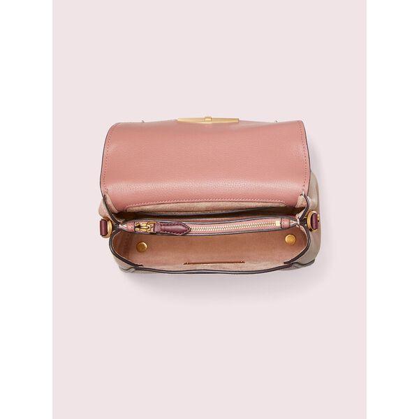 grace small top handle satchel, tinted rose multi, hi-res
