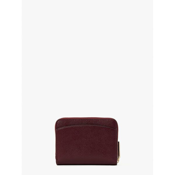 spencer small compact wallet, grenache, hi-res