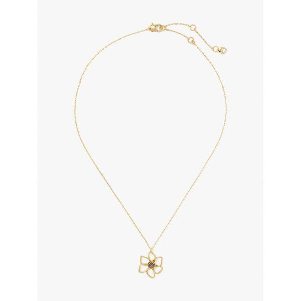wild garden mini pendant, gold, hi-res
