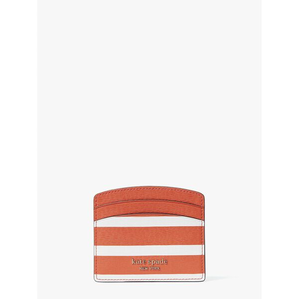 spencer stripe cardholder, tamarillo multi, hi-res