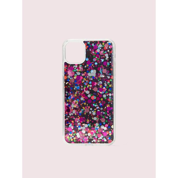 collage liquid glitter iphone 11 pro max case