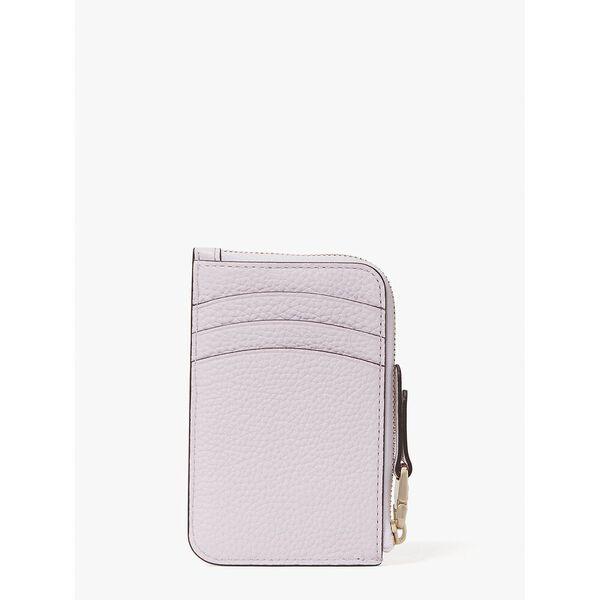 roulette zip cardholder, lilac moonlight, hi-res