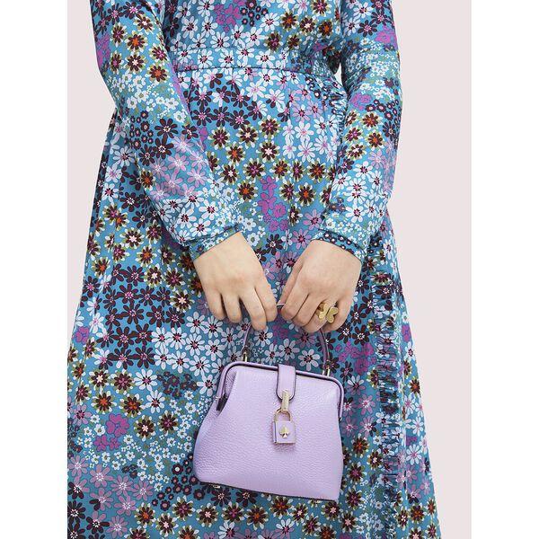 remedy small top-handle bag, iris bloom, hi-res