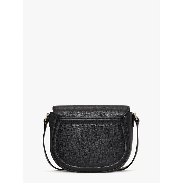 knott medium saddle bag, black, hi-res