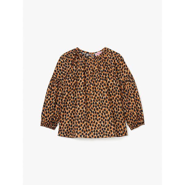 dotty leopard around town top, silt, hi-res