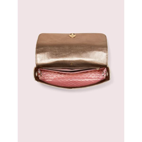 bowie velvet mini top handle bag, rose tea, hi-res