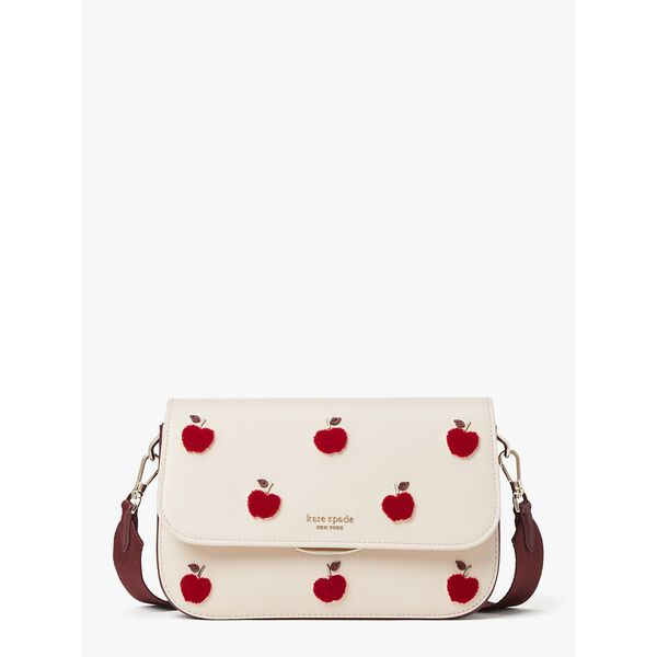 buddie apple toss medium shoulder bag