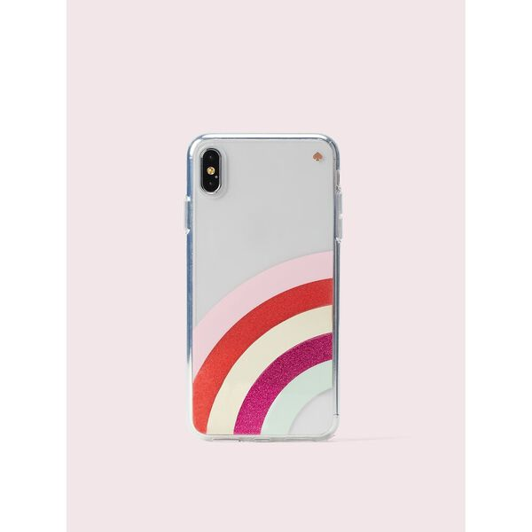 glitter rainbow iphone xs max case