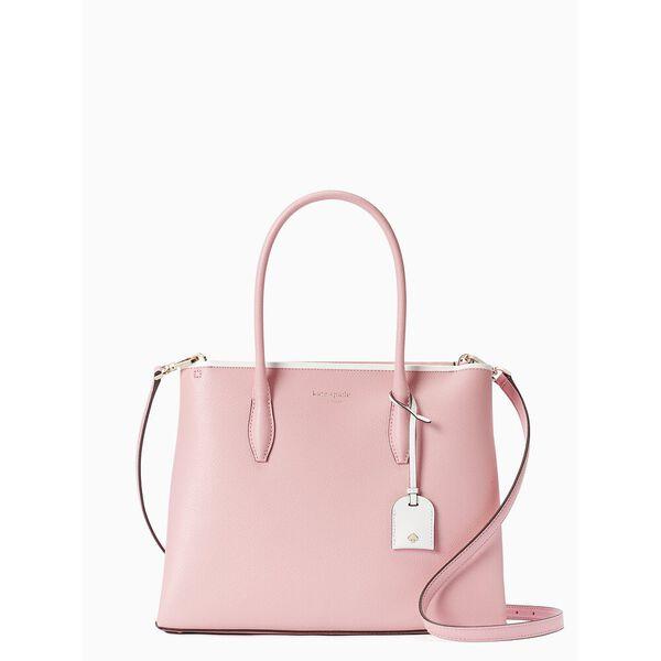 eva medium top zip satchel