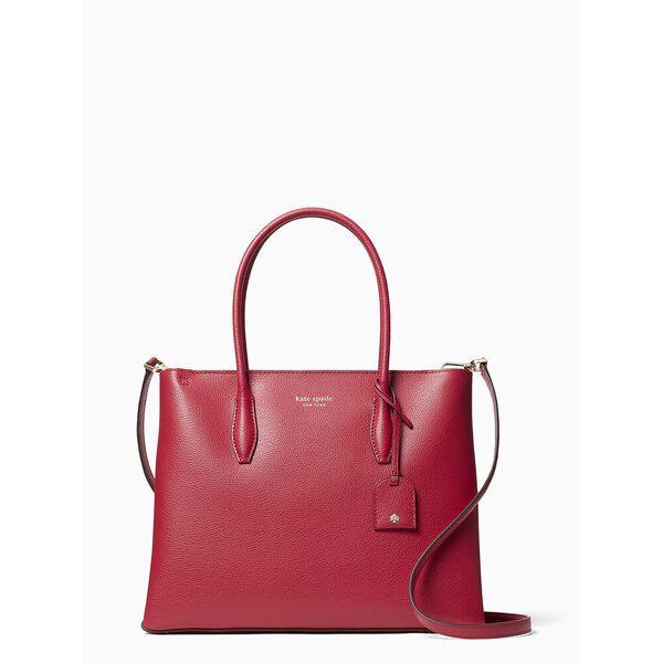 eva medium zip top satchel, RED CAKE, hi-res