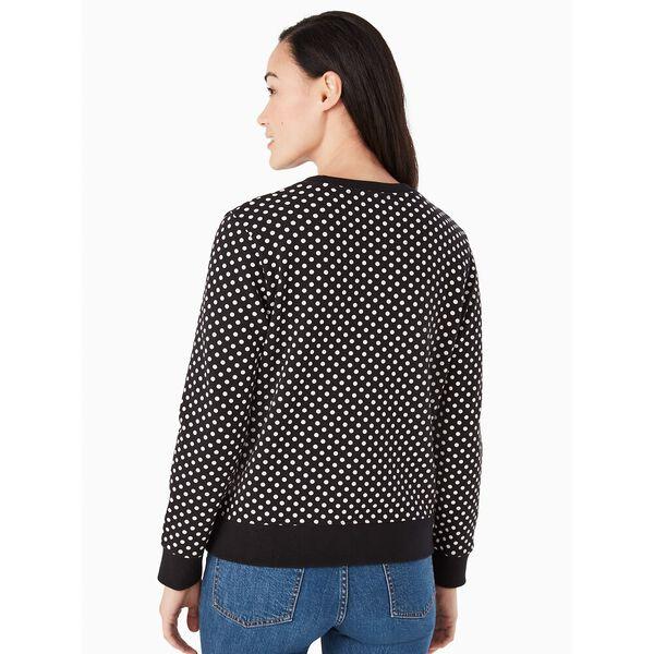 dot dot dot logo sweatshirt, black, hi-res