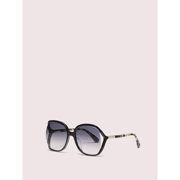 mackenna sunglasses, black, hi-res