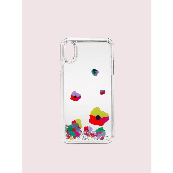 collage liquid glitter iphone xs max case