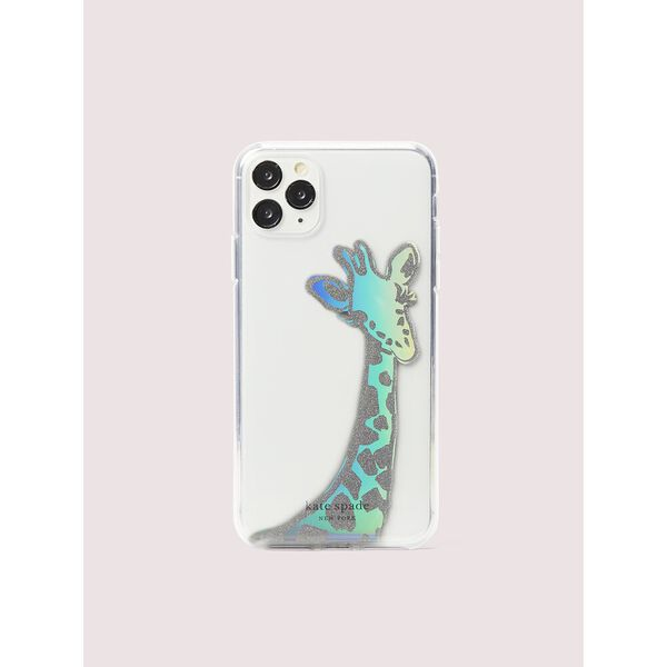 iridescent giraffe iphone 11 pro max case